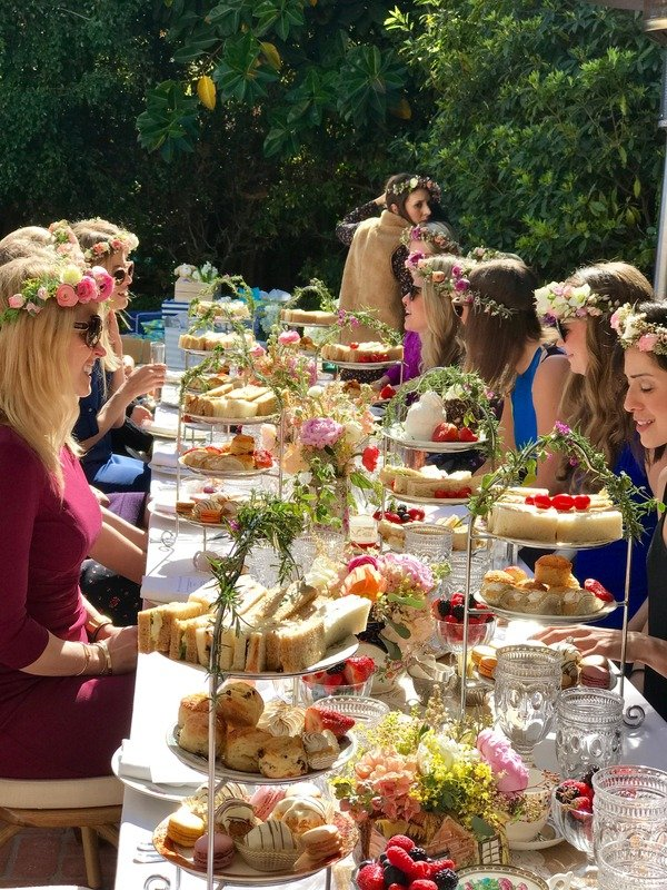 Gallery Catered English Tea Events & Food Los Angeles | Anyone for