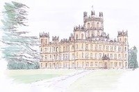 Downton Abbey English Country Home