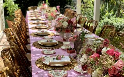 Beverly Hills Bridal Shower Tea
