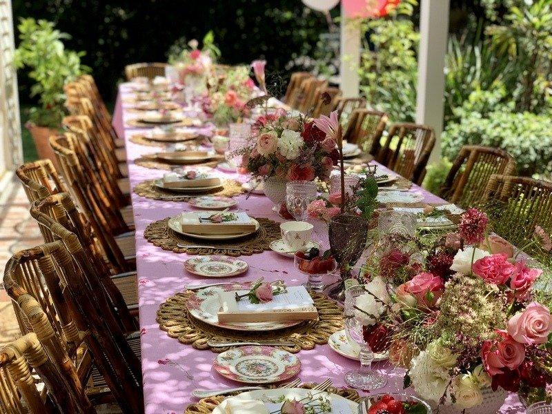 Beverly Hills Bridal Shower Tea